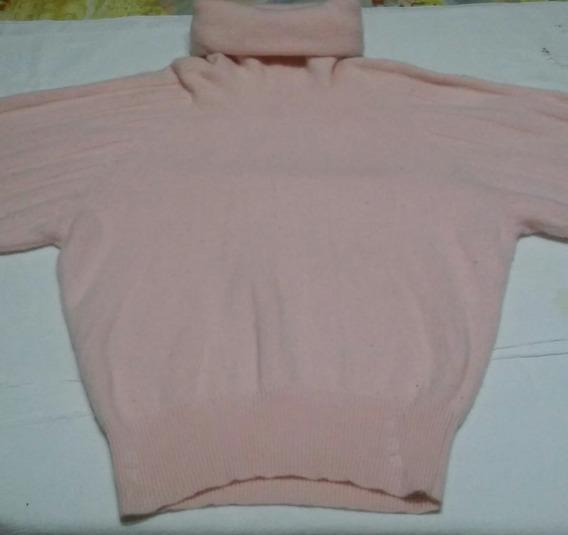 Sweater Polera De Lana Abrigado Mujer Invierno Talle L