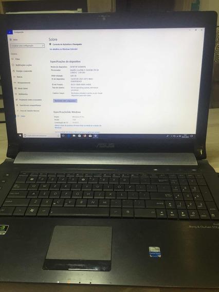 Notebook Asus 17.1 Polegadas +bolsa De Carrinho