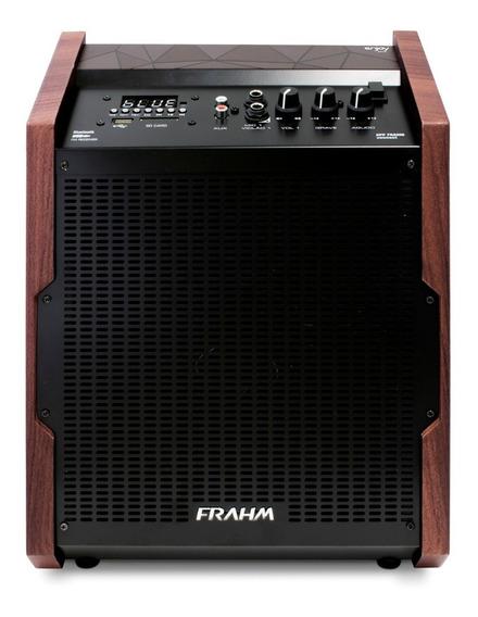 Caixa De Som Frahm 200wats Bluetooth Bateria Controle