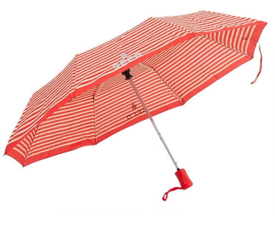 Paraguas London Rayas Rojas
