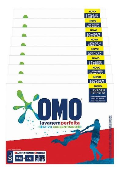 Omo Detergente Pó Lavagem Per 1.6kg - 9 Un