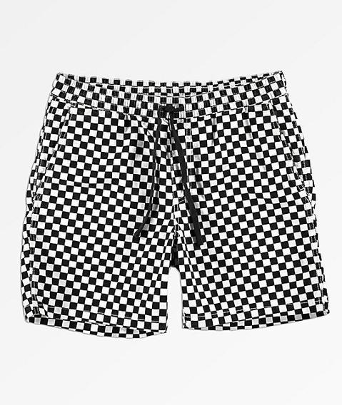 Shorts Vans Bermudas Range Checkered Old Skool Urban Beach