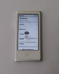 iPod Nano Prata 16gb 7 Geração Usado - Dead Pixel Leia 3f0gt