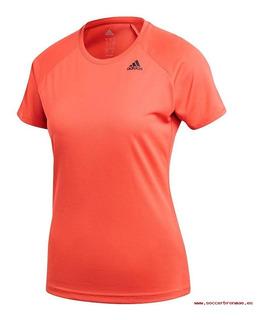 Camiseta Deportiva adidas D2m Tee Pl Cz8033-mujer Original