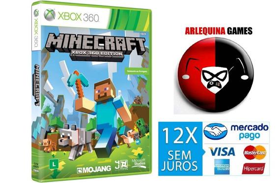 Minecraft - Xbox 360. Midia Fisica