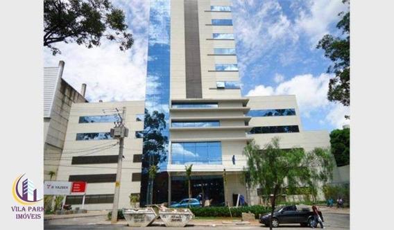 Sala 47 M² Com Ar Condicionado, Divisórias, 2 Banheiro Comercial Para Locação, Vila Yara, Osasco. - Sa0027