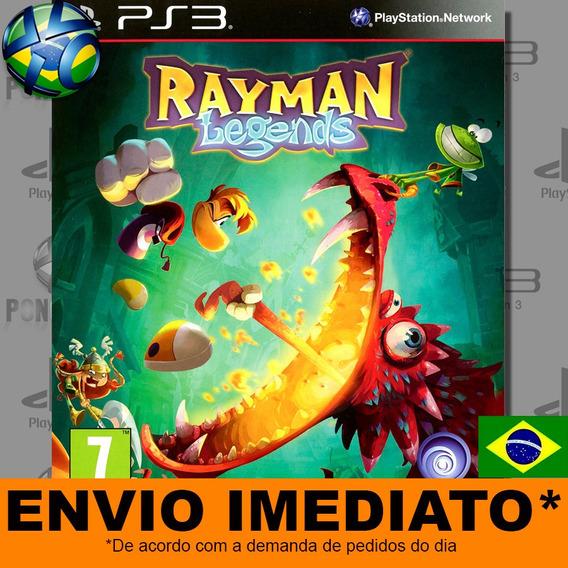 Rayman Legends Ps3 Digital Psn Dublado Português Promoção