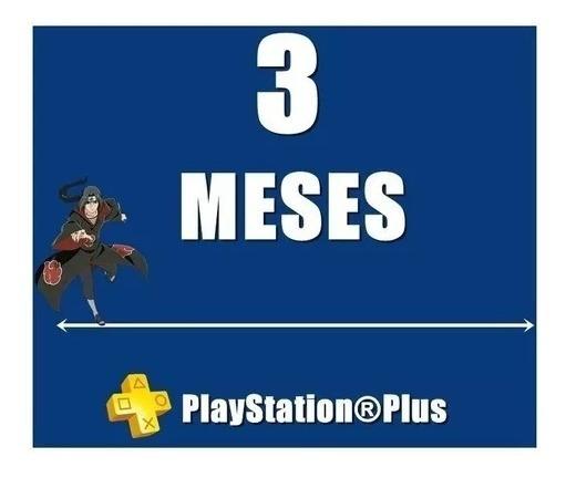 Psn Plus 3 Meses+ps Now 42 Dias