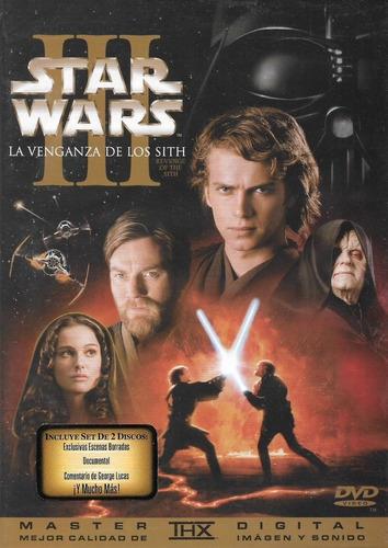 Imagen 1 de 2 de Dvd Star Wars Ill La Venganza De Los Sith  Original Sellado