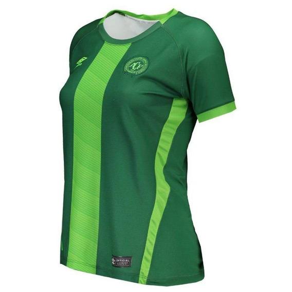Camisa Umbro Chapecoense Oficial Feminina