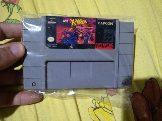 X-men Mutant Apocalypse Snes Original