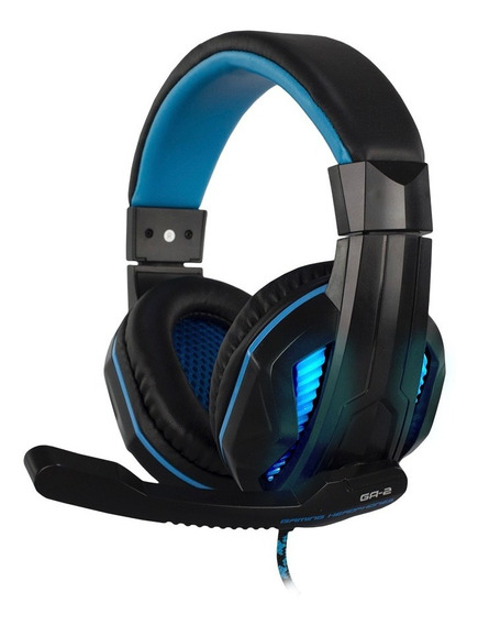 Headset Pro Gamer Stereo Hoopson Ga-2 Led Usb