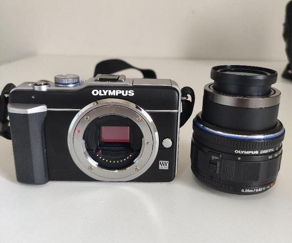 Câmera Digital Olympus Pen E-pl1, Com Todos Os Assessórios