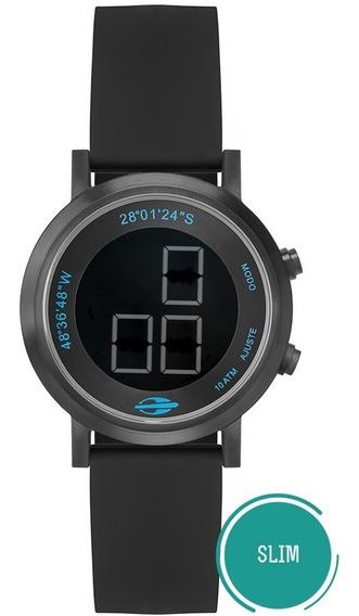 Relógio Mormaii Feminino Digital Slim Mo11929aa/2p Negativo