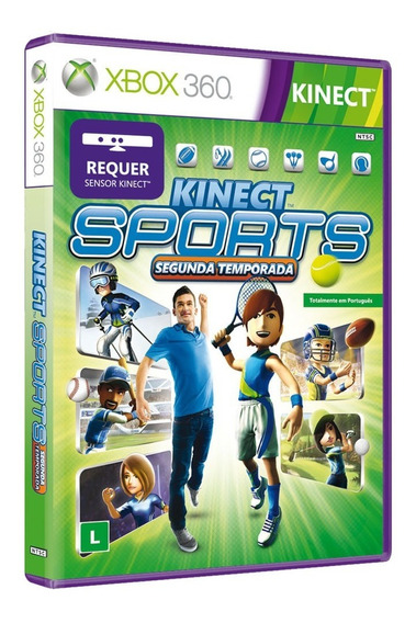 Jogo De Xbox 360 Kinect Sports Season Two Original