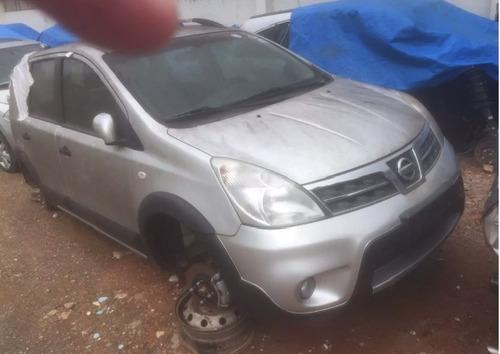 Sucata Nissan Livina 2012 Prateado Para Retirada De Peças