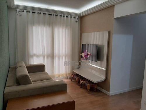 Imagem 1 de 30 de Apartamento Com 3 Dormitórios À Venda, 69 M² Por R$ 325.000,00 - Vila Antonieta - São Bernardo Do Campo/sp - Ap1532