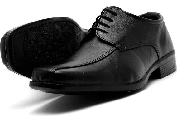 Sapato Social Infantil Masculino Couro Pronta Entrega