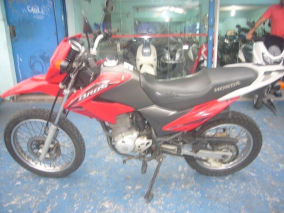 Honda Nxr 150 Bros Esd 2011 Flex Vermelha R$ 7.599 Troco