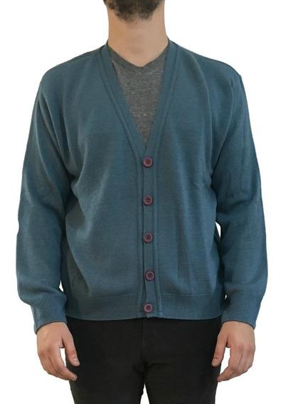 Cardigan Saquito Sweater Con Botones Invierno Borgia