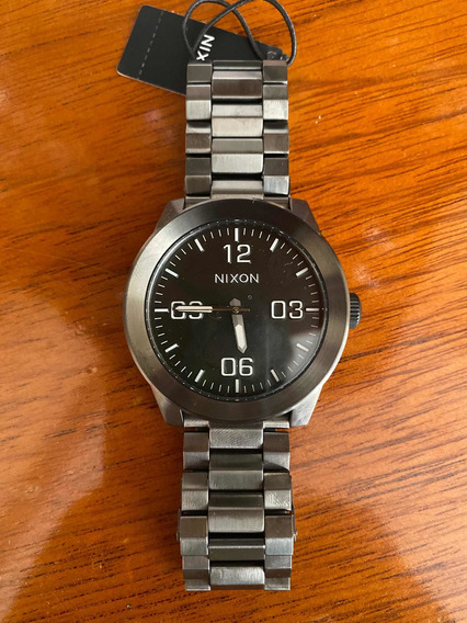 Relógio Novo Original Nixon Gunmetal, R$1.943 Por R$980