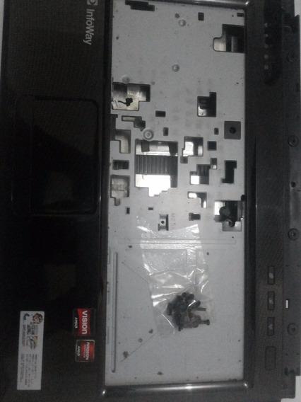 Carcaça Inferior Notebook Itautec A7520 Completa