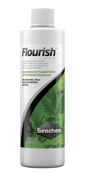 Flourish 250ml Abono Plantas Seachem Acuario Plantado