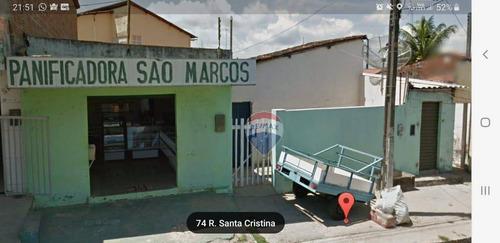 Casa Com 2 Dormitórios À Venda  - Felipe Camarão - Natal/rn - Ca0028