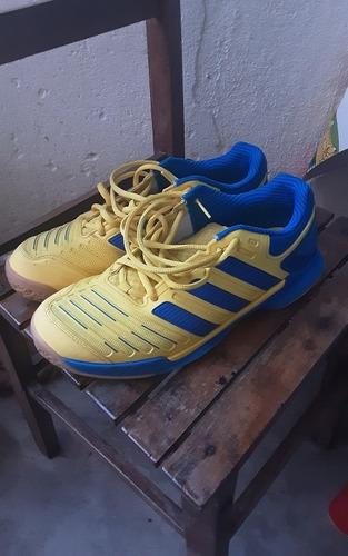 Tênis adidas Adipower Stabil Amarelo