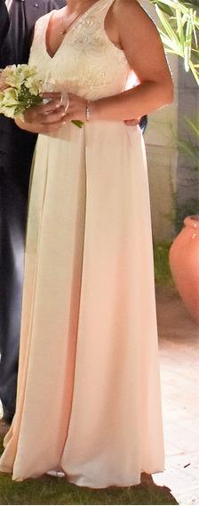 Vestido Novia-egresada-fiesta-largo Importado Impecable