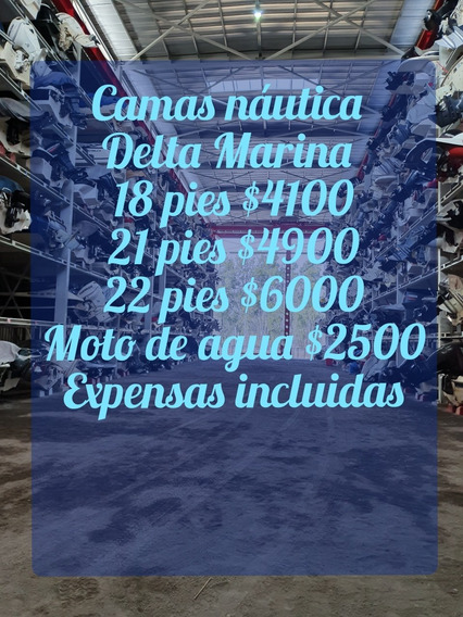 Camas Nauticas 18, 21 Y 22 Pies En Delta Marina Nave 3