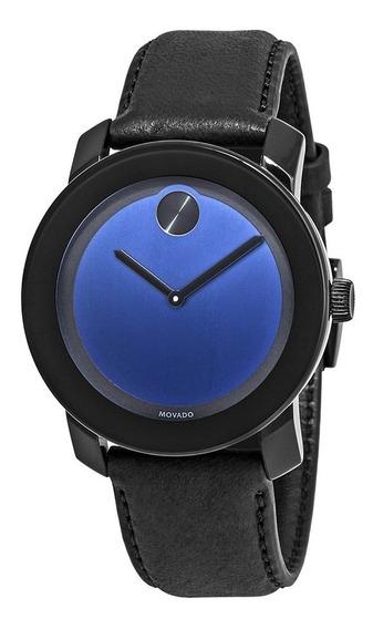 Relógio Movado Bold Black/blue Masculino 3600481