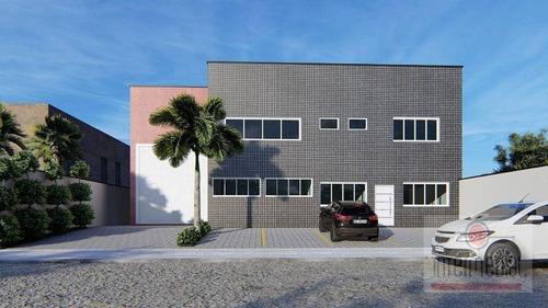 Imagem 1 de 3 de Galpão Para Alugar, 878 M² Por R$ 12.000,00/mês - Centro Empresarial Castelo Branco - Boituva/sp - Ga0120