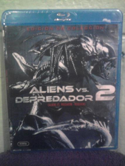 Blu Ray Alien Vs Depredador 2 Terror Mutante Ciencia Ficción