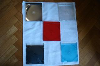 Cajas Vacias De Cd Nuevas Tamaño Slim Y Standard Color