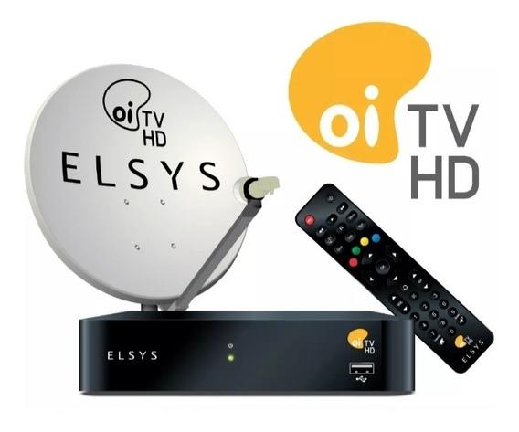 Antena Oi Tv Livre Kit Completo Com Todos Acessorios