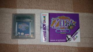 Zelda Oracle Of Ages Para Nintendo Game Boy Color Original