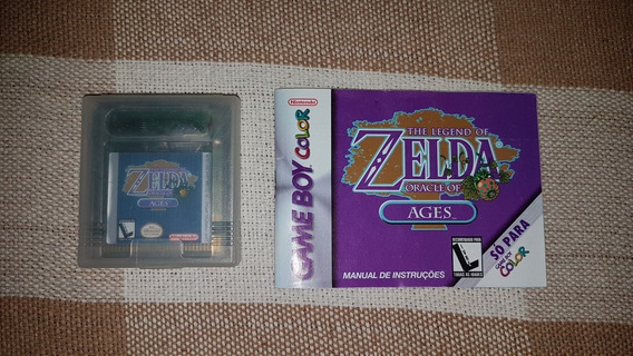 Zelda Oracle Of Ages Para Nintendo Game Boy Color Original