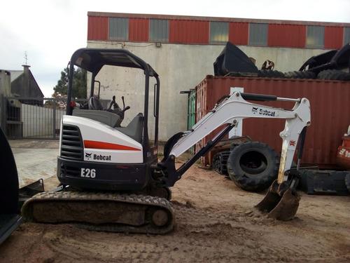 Imagen 1 de 7 de Bobcat Excavadora Miniexcavadora Orugas Nuevo Y Usado