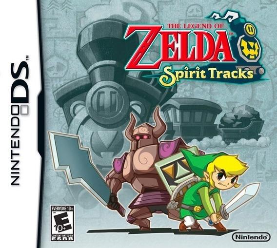 Zelda Spirit Tracks Nintendo Ds (jogo Original)