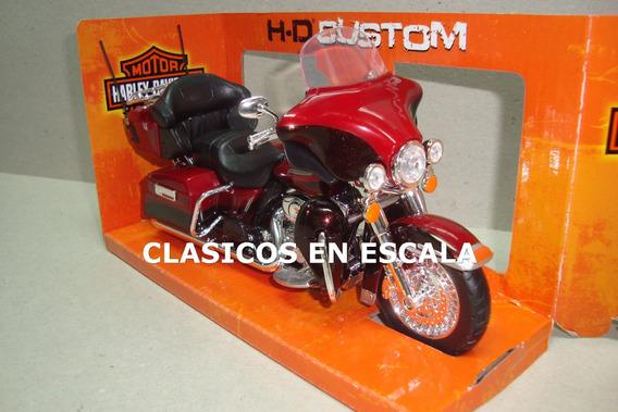 Harley Davidson Flhtk Electra Glide 2013 - Moto Maisto 1/12