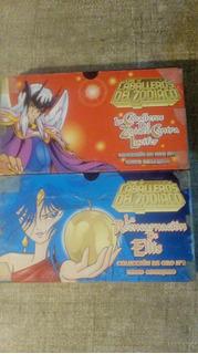 2 Vhs Caballeros De Zodíaco Ellis Y Lucifer