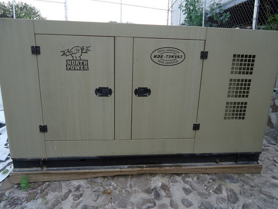 Planta Luz Y Emergencia North Power 50 Kw 127/220v Nueva