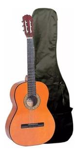 Guitarra Clasica Memphis Con Funda Vmusic