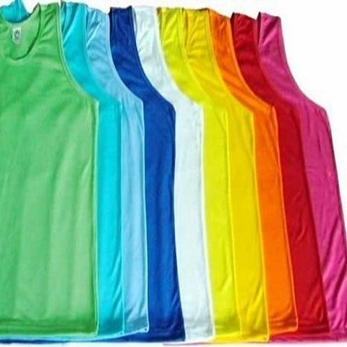 Regata Masculina Colorida De Poliéster Para Sublimação