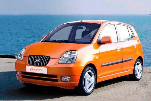 Disco O Rotor De Frenos Delantero Kia Picanto 2005-2009