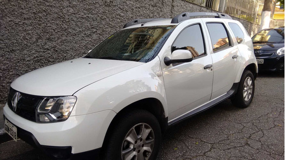 Duster 1.6 Expression Automatica 2017 Gnv Gas Alcool Branca