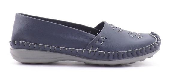 Zapato Mocasin Tippy Dama Mujer Cuero Vacuno Liquidacion 210