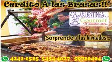 Catering De Asados A Las Brasas Cerdo Asado Al Carbon