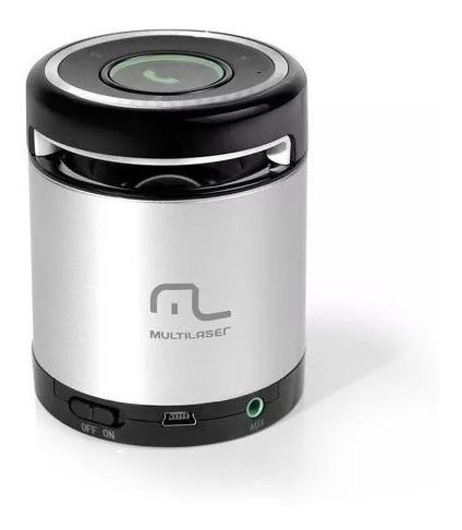 Caixa Bluetooth Sound Box Multilaser 10w Rms Mini Sp155